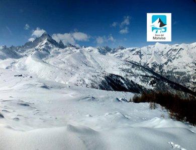 La magia dell'inverno- Monte Tivoli (Valle Po – CN)