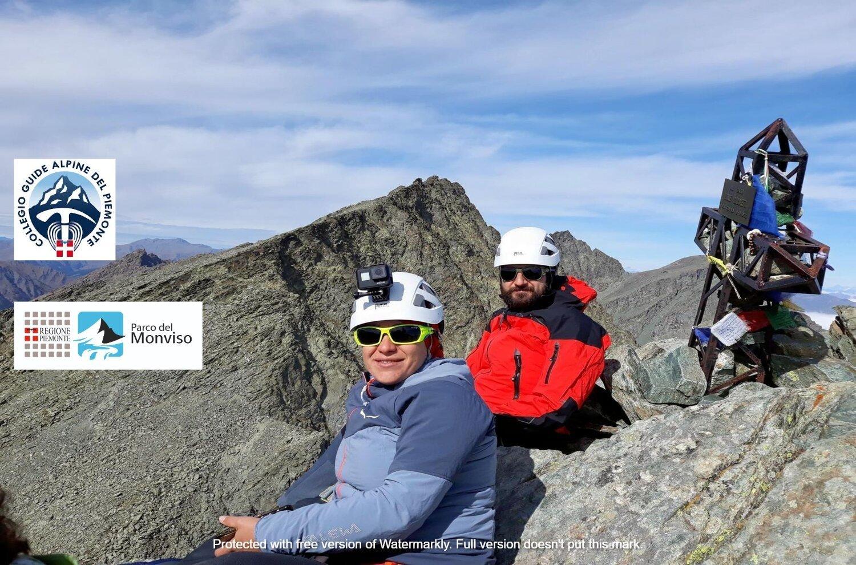 Corso di alpinismo base al Monviso 2